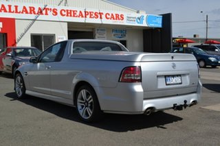 2008 Holden Commodore VE SV6 Silver 5 Speed Automatic Utility.