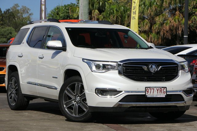Used Holden Acadia AC MY19 LTZ-V AWD, 2018 Holden Acadia AC MY19 LTZ-V AWD Abalone White 9 Speed Sports Automatic Wagon