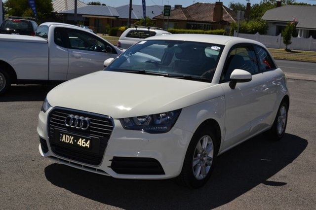 Used Audi A1 8X Attraction, 2011 Audi A1 8X Attraction White 6 Speed Manual Coupe