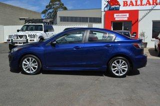 2011 Mazda 3 BL SERIES 1 SP25 Blue 6 Speed Manual Sedan.
