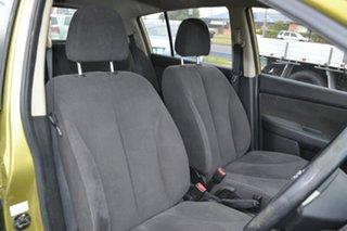 2008 Nissan Tiida C11 MY07 ST-L Yellow 4 Speed Automatic Hatchback