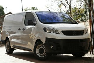 2019 Peugeot Expert MY19 180 HDi Long White 6 Speed Automatic Van.