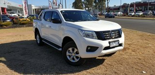 2018 Nissan Navara D23 SERIES III ST (4x4) Polar White 7 Speed Automatic Dual Cab Pick-up.