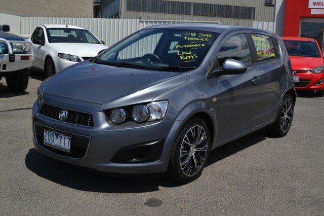 Used Holden Barina TM MY13 CD, 2013 Holden Barina TM MY13 CD Grey 6 Speed Automated Hatchback