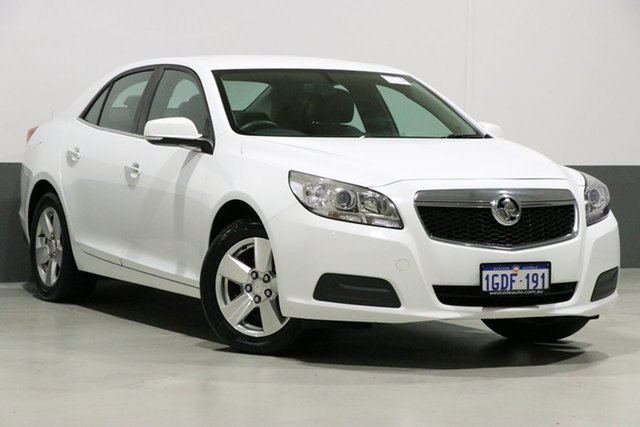 Used Holden Malibu EM MY15 CD, 2016 Holden Malibu EM MY15 CD White 6 Speed Automatic Sedan