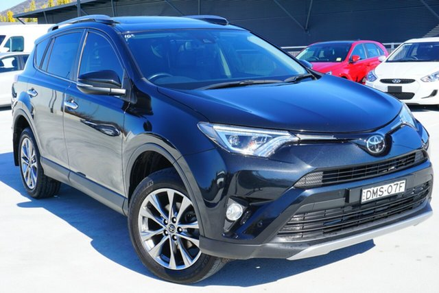 Used Toyota RAV4 ASA44R Cruiser AWD, 2017 Toyota RAV4 ASA44R Cruiser AWD Black 6 Speed Sports Automatic Wagon