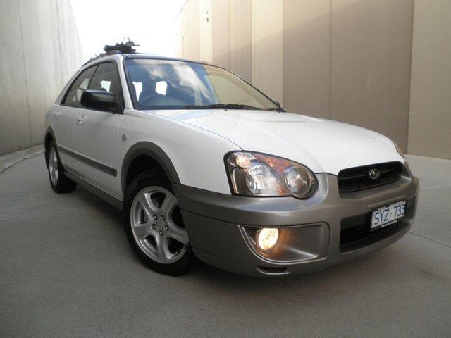 Used Subaru Impreza S MY04 RV AWD, 2004 Subaru Impreza S MY04 RV AWD White & Grey 4 Speed Automatic Hatchback