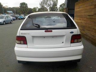 1995 Ford Festiva WB GLi White 3 Speed Automatic Hatchback