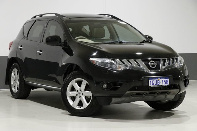 Used Nissan Murano Z51 MY10 TI, 2010 Nissan Murano Z51 MY10 TI Black Continuous Variable Wagon
