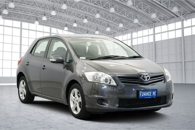 Used Toyota Corolla ZRE152R MY11 Conquest, 2011 Toyota Corolla ZRE152R MY11 Conquest Grey 4 Speed Automatic Hatchback