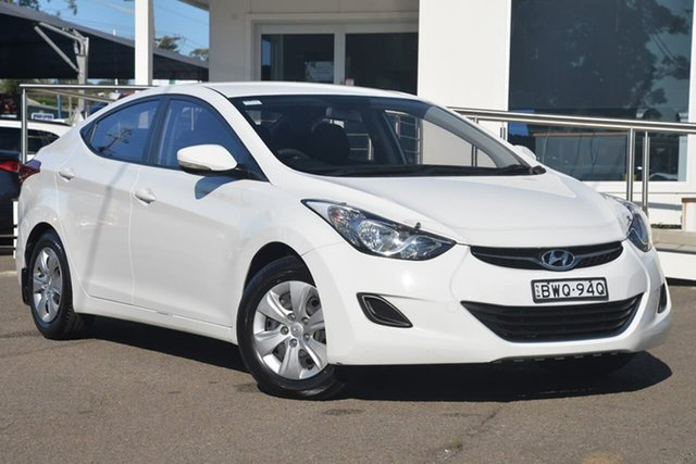 Used Hyundai Elantra MD Active, 2011 Hyundai Elantra MD Active White 6 Speed Sports Automatic Sedan