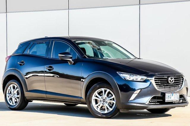 Used Mazda CX-3 DK2W7A Maxx SKYACTIV-Drive, 2016 Mazda CX-3 DK2W7A Maxx SKYACTIV-Drive Deep Crystal Blue 6 Speed Sports Automatic Wagon