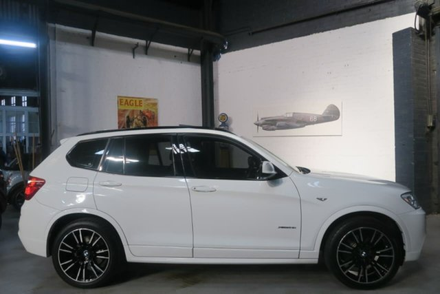 Used BMW X3 F25 LCI MY0414 xDrive28i Steptronic, 2014 BMW X3 F25 LCI MY0414 xDrive28i Steptronic White 8 Speed Sports Automatic Wagon