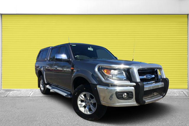 Used Ford Ranger PK XLT Crew Cab, 2011 Ford Ranger PK XLT Crew Cab Grey 5 Speed Automatic Utility
