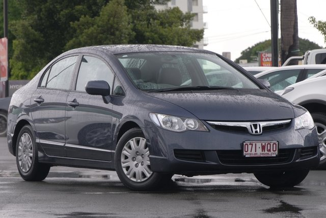 Used Honda Civic 8th Gen MY08 VTi, 2008 Honda Civic 8th Gen MY08 VTi Grey 5 Speed Manual Sedan
