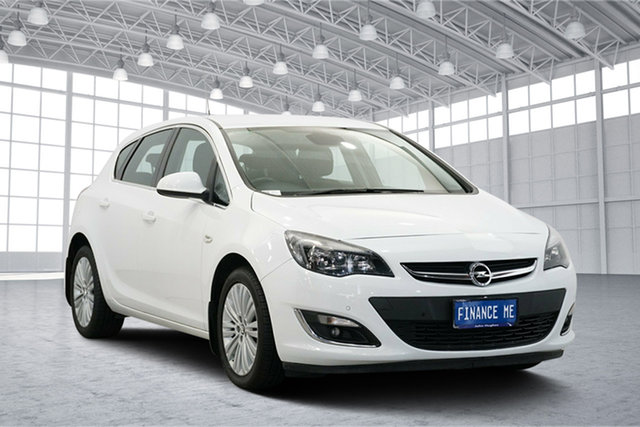 Used Opel Astra AS , 2013 Opel Astra AS White 6 Speed Sports Automatic Hatchback