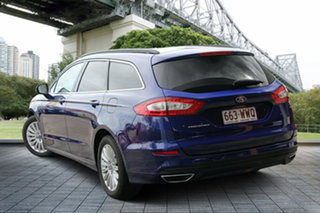 2016 Ford Mondeo MD Trend PwrShift Blue 6 Speed Sports Automatic Dual Clutch Wagon.