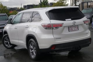 2014 Toyota Kluger GSU55R GXL AWD White 6 Speed Sports Automatic Wagon