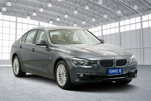 Used BMW 320i F30 , 2012 BMW 320i F30 Grey 8 Speed Sports Automatic Sedan