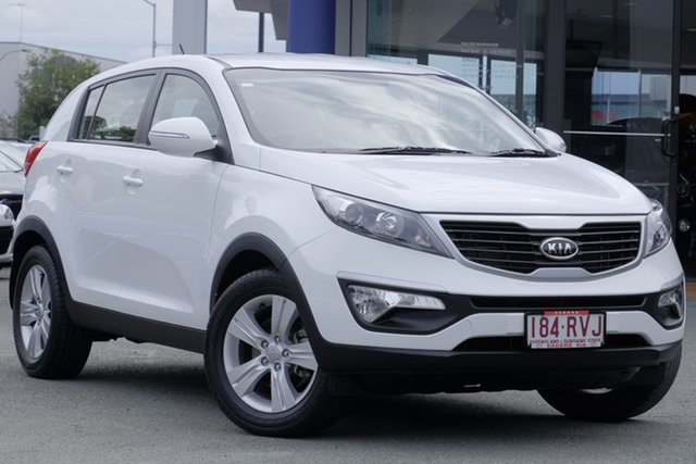 Used Kia Sportage SL SI, 2011 Kia Sportage SL SI White 6 Speed Sports Automatic Wagon