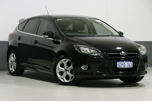 Used Ford Focus LW MK2 Sport, 2014 Ford Focus LW MK2 Sport Black 6 Speed Automatic Hatchback