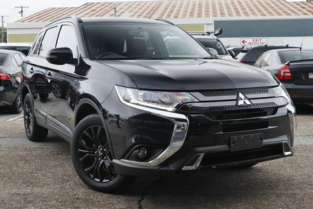 New Mitsubishi Outlander ZL MY21 Black Edition 2WD Maitland, 2021 Mitsubishi Outlander ZL MY21 Black Edition 2WD Black 6 Speed Constant Variable Wagon