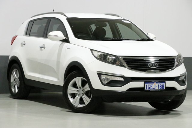 Used Kia Sportage SL MY12 SLi(AWD), 2012 Kia Sportage SL MY12 SLi(AWD) White 6 Speed Automatic Wagon