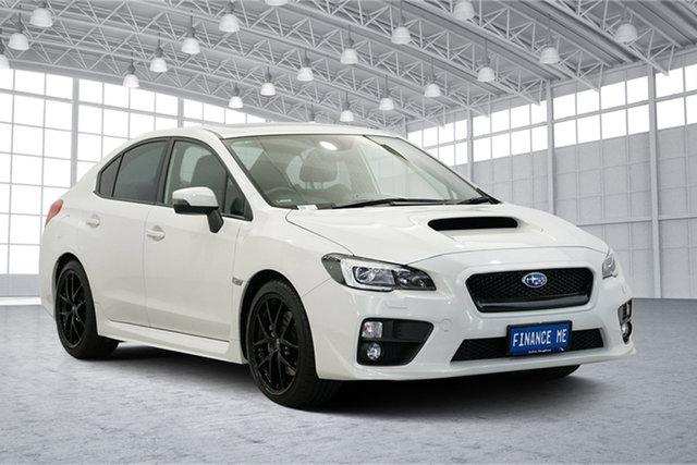 Used Subaru WRX V1 MY17 Premium Lineartronic AWD, 2017 Subaru WRX V1 MY17 Premium Lineartronic AWD White 8 Speed Constant Variable Sedan