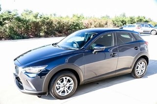 2016 Mazda CX-3 DK2W7A Maxx SKYACTIV-Drive Deep Crystal Blue 6 Speed Sports Automatic Wagon.