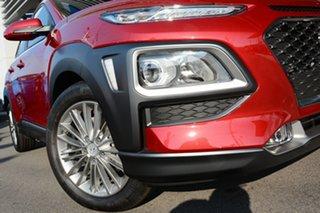 2019 Hyundai Kona OS.2 MY19 Elite 2WD Pulse Red 6 Speed Sports Automatic Wagon.