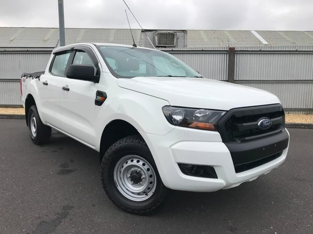 Used Ford Ranger PX MkII XL Double Cab, 2016 Ford Ranger PX MkII XL Double Cab White 6 Speed Sports Automatic Utility