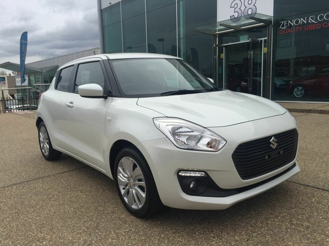 Used Suzuki Swift AZ GL Navigator, 2017 Suzuki Swift AZ GL Navigator White 1 Speed Constant Variable Hatchback