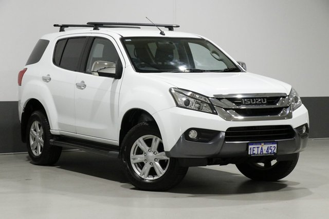 Used Isuzu MU-X UC MY15 LS-U (4x4), 2015 Isuzu MU-X UC MY15 LS-U (4x4) White 5 Speed Manual Wagon