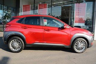 2019 Hyundai Kona OS.2 MY19 Elite 2WD Pulse Red 6 Speed Sports Automatic Wagon