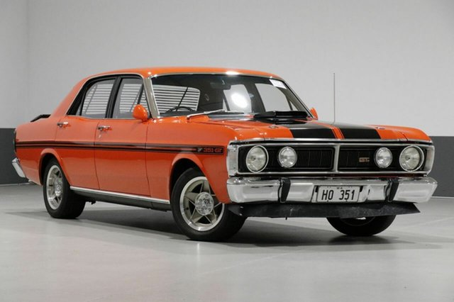 Used Ford Falcon XY Gtho Phase III, 1971 Ford Falcon XY Gtho Phase III Vermillion Red 4 Speed Manual Sedan