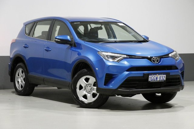 Used Toyota RAV4 ASA44R MY17 GX (4x4), 2017 Toyota RAV4 ASA44R MY17 GX (4x4) Blue 6 Speed Automatic Wagon