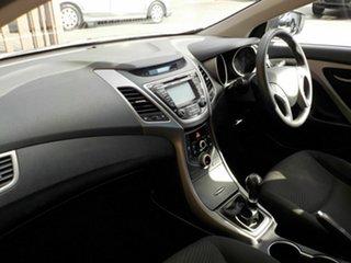 2015 Hyundai Elantra MD3 Active White 6 Speed Manual Sedan