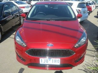 2017 Ford Focus LZ Sport Red/Black 6 Speed Automatic Hatchback