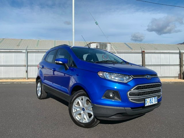 Used Ford Ecosport BK Trend, 2013 Ford Ecosport BK Trend Blue 5 Speed Manual Wagon
