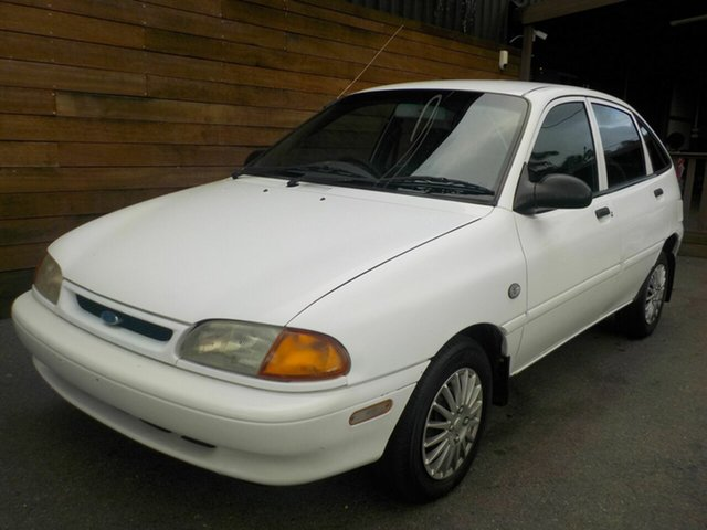 Used Ford Festiva WB GLi, 1995 Ford Festiva WB GLi White 3 Speed Automatic Hatchback