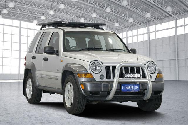 Used Jeep Cherokee KJ MY2006 Sport, 2006 Jeep Cherokee KJ MY2006 Sport Silver 4 Speed Automatic Wagon