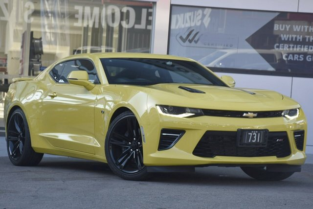 Used Chevrolet Camaro 1AL37 MY18 2SS, 2018 Chevrolet Camaro 1AL37 MY18 2SS Bumblebee Yellow 8 Speed Automatic Coupe