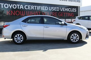 2017 Toyota Corolla ZRE172R Ascent Silver 7 Speed CVT Auto Sequential Sedan