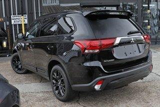 2021 Mitsubishi Outlander ZL MY21 Black Edition 2WD Black 6 Speed Constant Variable Wagon.