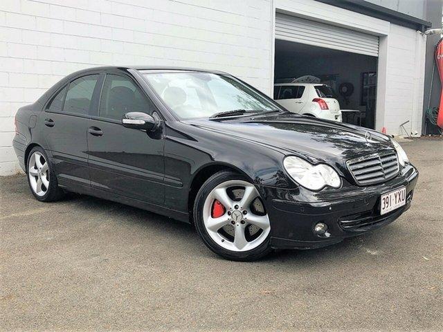 Used Mercedes-Benz C180 Kompressor W203 MY07 Classic, 2006 Mercedes-Benz C180 Kompressor W203 MY07 Classic Black 5 Speed Automatic Sedan