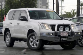 2013 Toyota Landcruiser Prado KDJ150R GX White 5 Speed Sports Automatic Wagon.