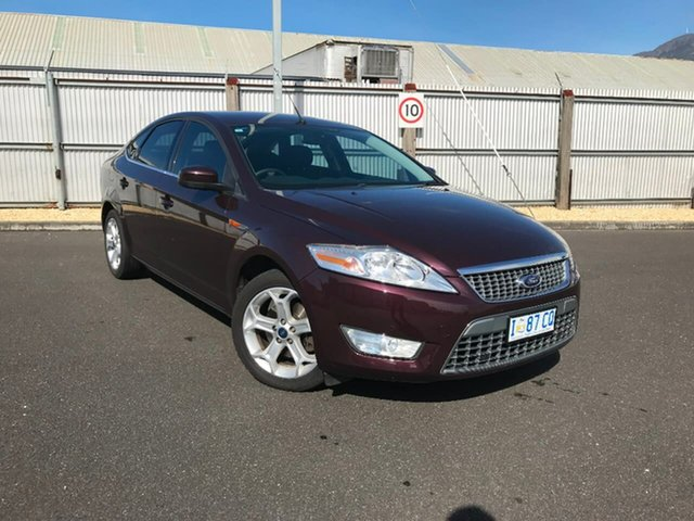 Used Ford Mondeo MB Zetec, 2009 Ford Mondeo MB Zetec Maroon 6 Speed Sports Automatic Hatchback