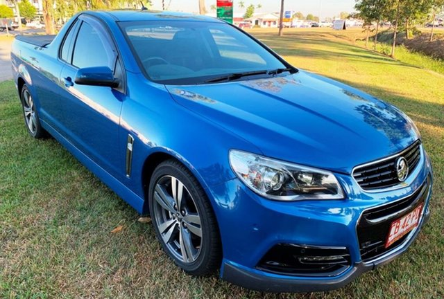 Used Holden Ute VF MY15 SV6 Ute, 2014 Holden Ute VF MY15 SV6 Ute Blue 6 Speed Manual Utility