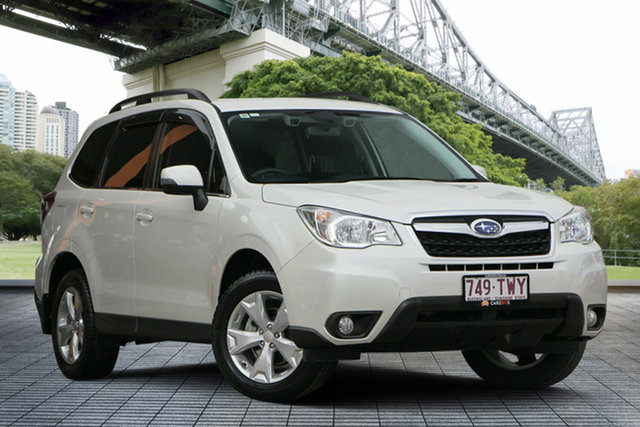 Used Subaru Forester S4 MY14 2.5i-L Lineartronic AWD, 2014 Subaru Forester S4 MY14 2.5i-L Lineartronic AWD White 6 Speed Constant Variable Wagon