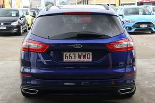 2016 Ford Mondeo MD Trend PwrShift Blue 6 Speed Sports Automatic Dual Clutch Wagon